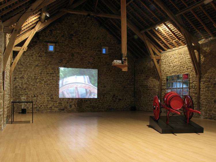 la Pommerie, résidence d'artiste